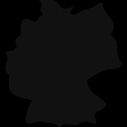 Icon der Deutschlandkarte