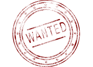 Wanted Stempel